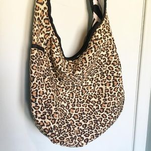 Handbags - Leopard Cross Body Bag